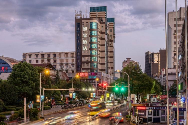 如家酒店-萍乡绿茵广场步行街沃尔玛店